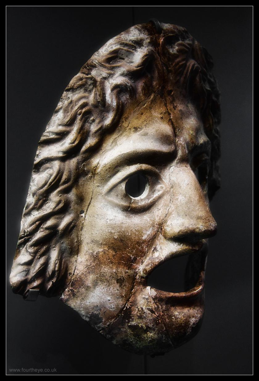 Prosopon / masque de théâtre grec