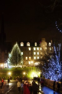Edinburgh's Christmas Light Night