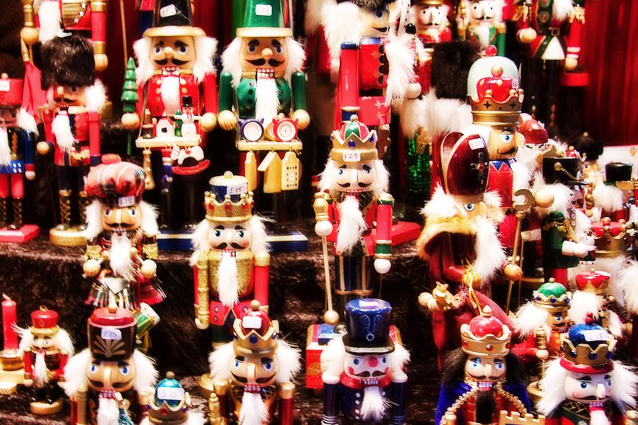 the traditonal german christmas market