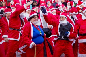 The Great Edinburgh Santa Run