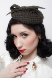 Miss Dixiebelle headwear shoot