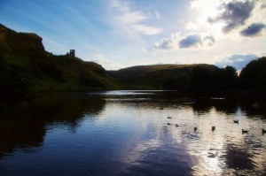 St Margaret&#39;s Loch, Holyrood Park