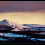 Snow on the Pentlands