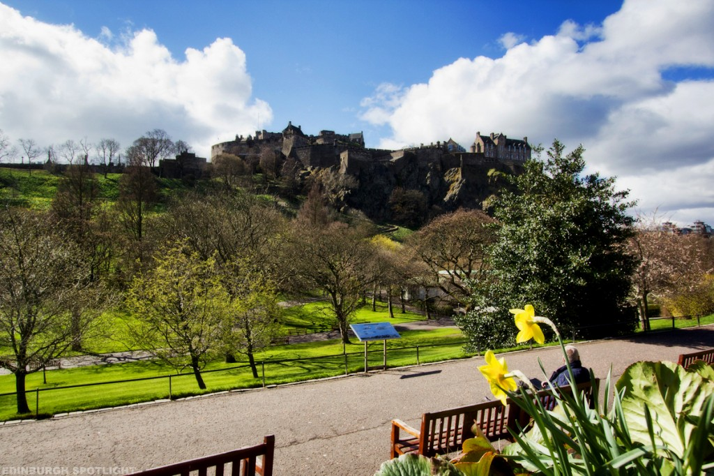 Spring in Edinburgh